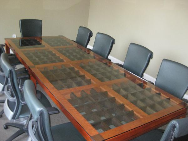 Barrister Bookcase Mo - 10 x 4 conference table